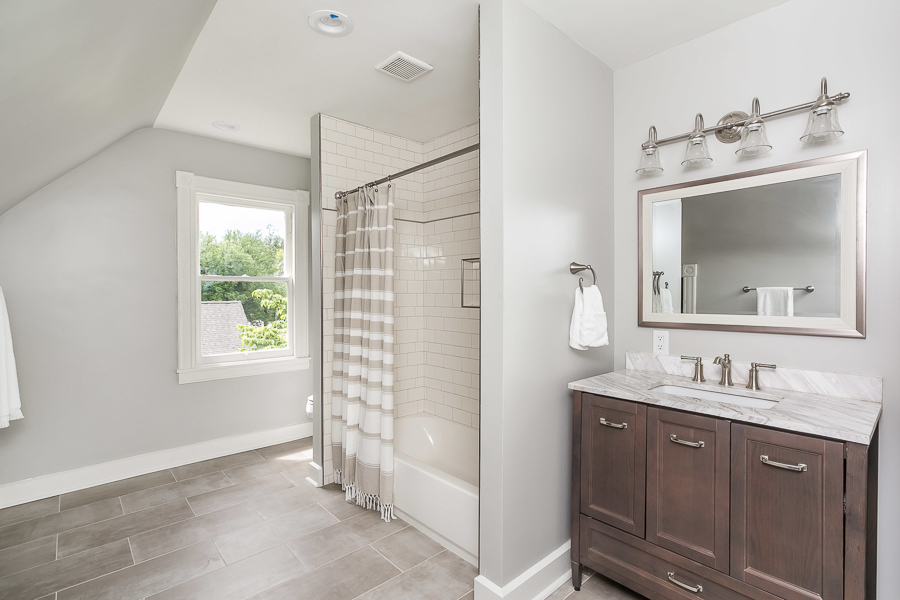 Bathroom 3 in lutherville renovation by byrd design and build