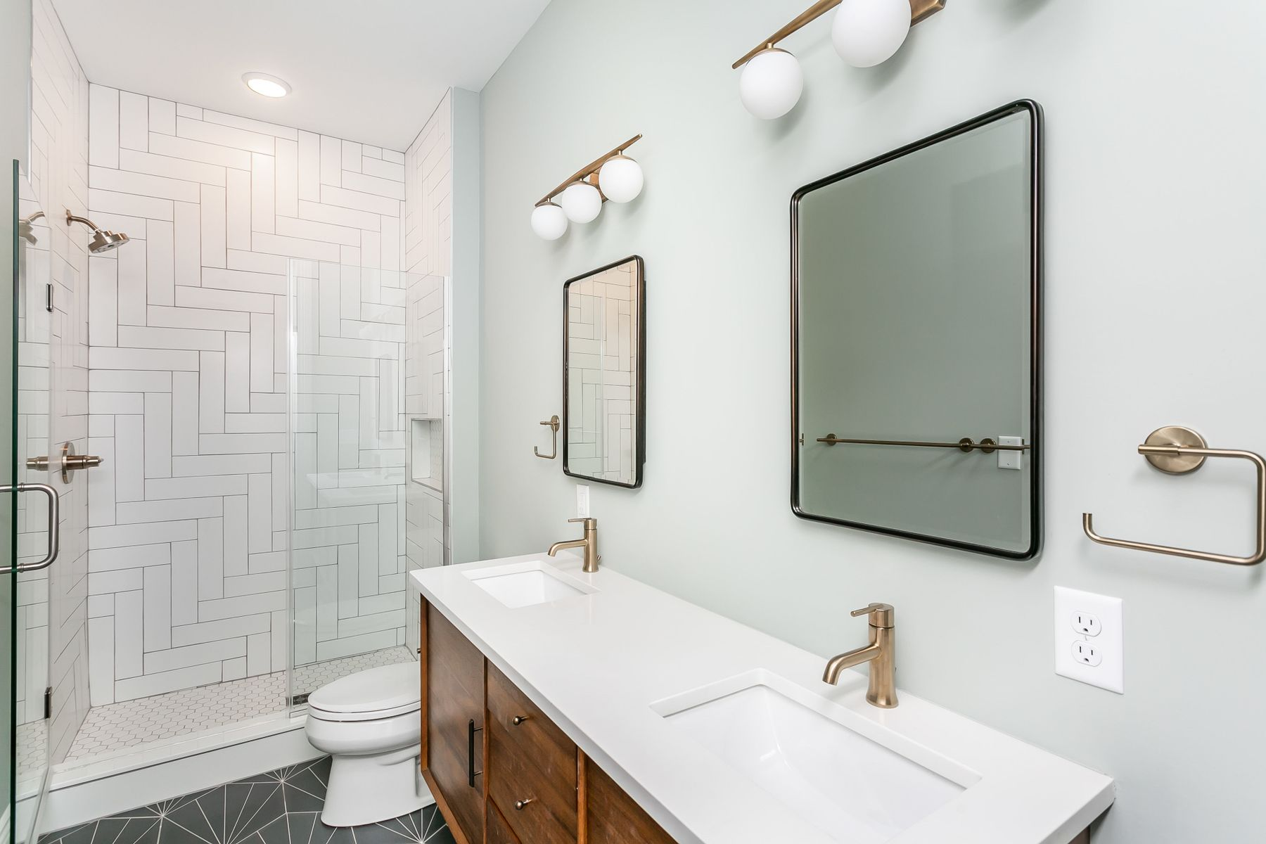 Bathroom image of brand new redesign in Charles Village